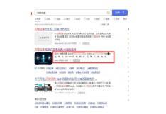 闪狼动漫官网百度搜索显示内容有误被人挂广告