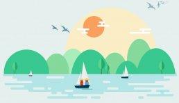 扁平化设计素材网站漫品购动画制作创作脚本制
