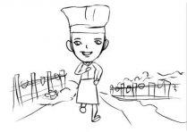 健康蔬菜水果运营平台动漫卡通形象动画演示创
